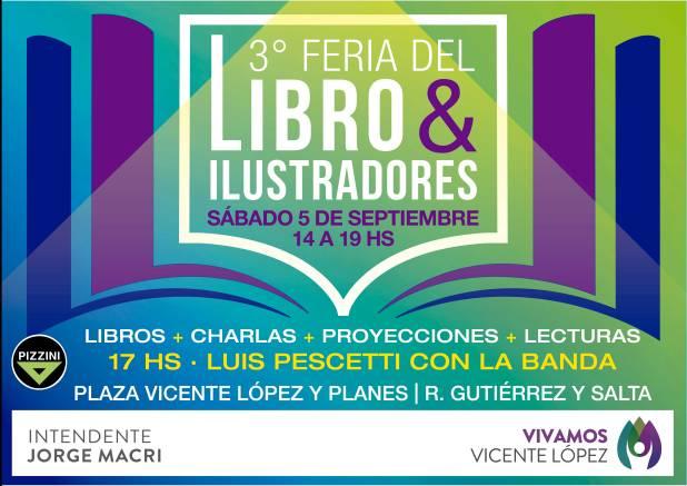 #musichicos nuevamente en la Feria del Libro de Vicente López, Septiembre2015